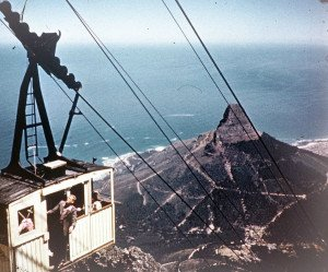 Cable Way Table Mountain - Photos found on an old camera, South Africa