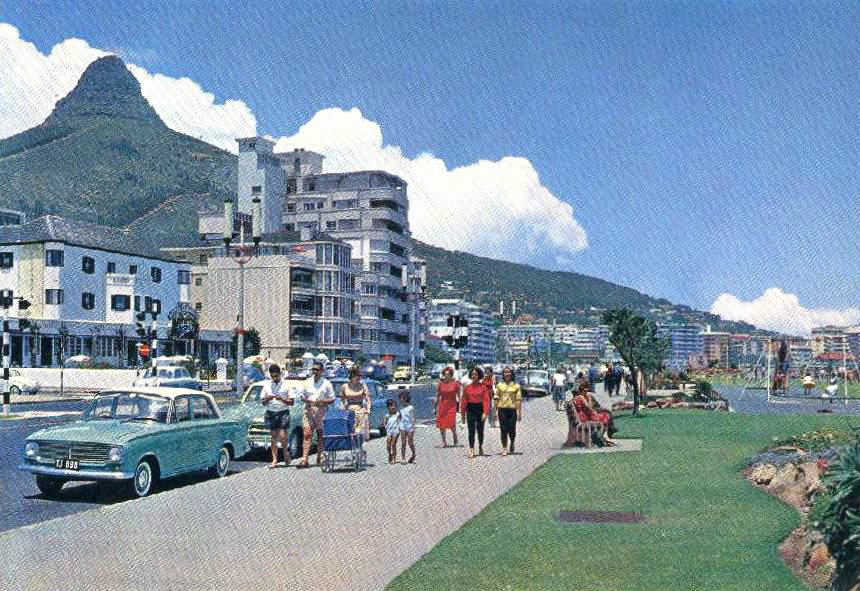 Sea Point Promenade - Photos found on an old camera, South Africa