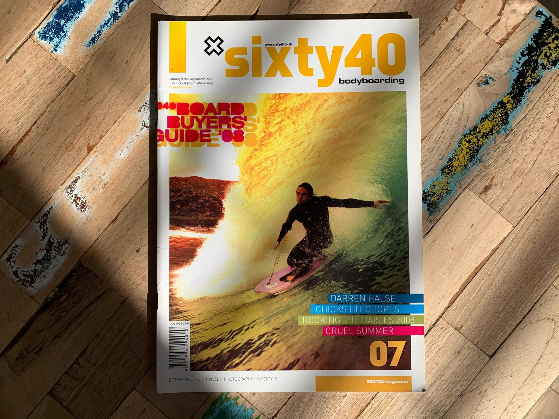 Our work for sixty40 Magazine, Issue 07 featured on Editorial Design Served. 8
