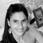 Black and White Image of Mariana Kamffer