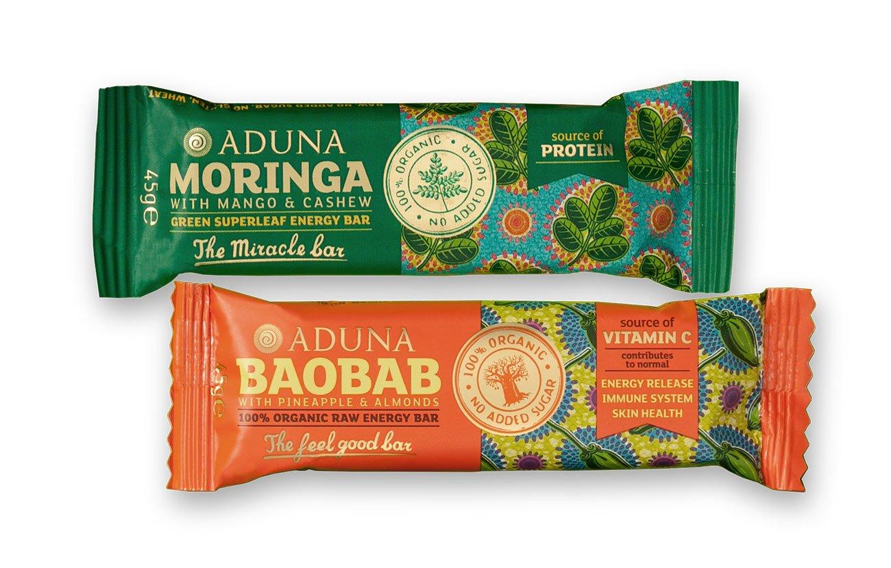 Aduna Organic Raw Energy Bars