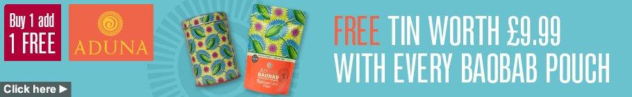 Aduna Get One Free Banner Blue