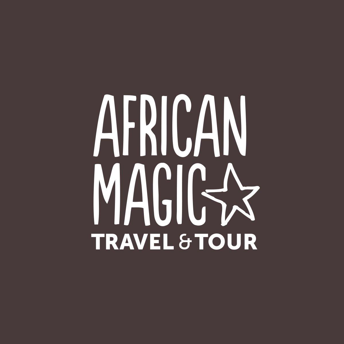 African Magic Travel and Tour Logo