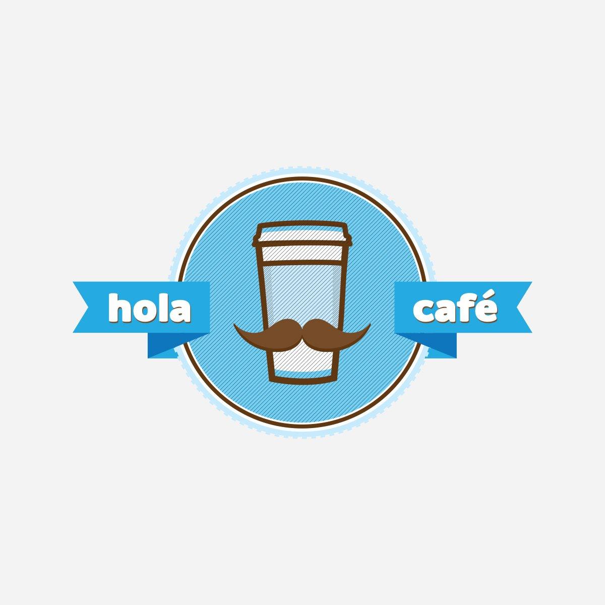 Hola Cafe Logo