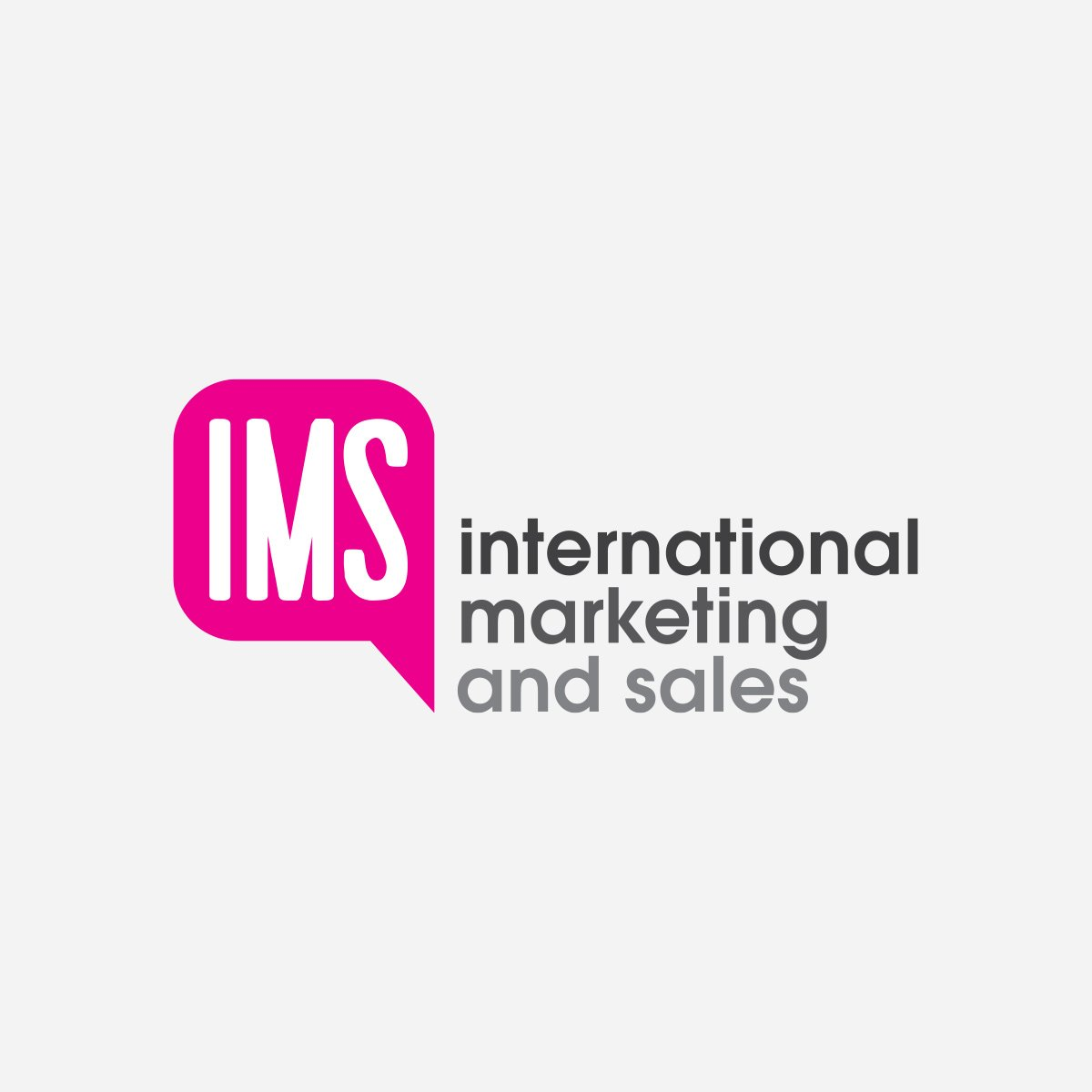 International Marketing and Sales Logo