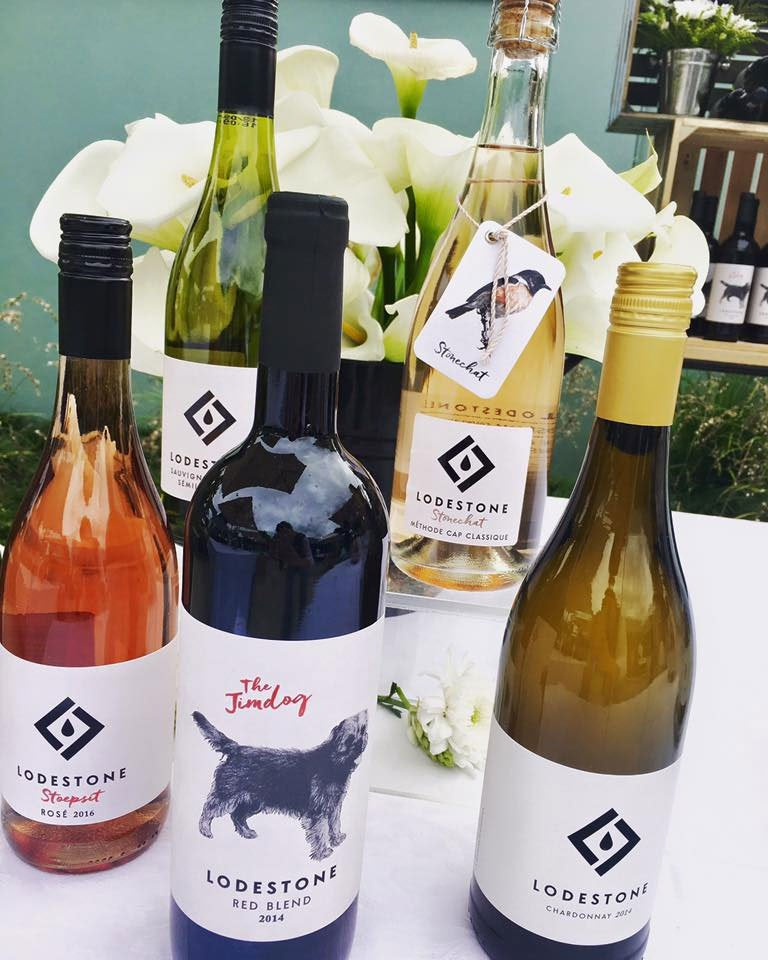 Lodestone Wines Labels
