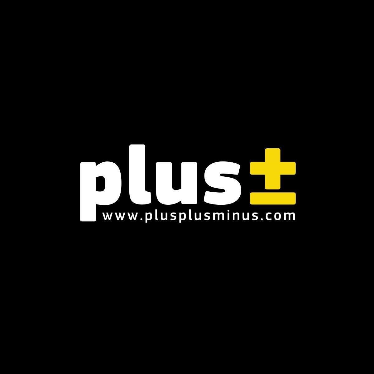 Plus Plus Minus Logo