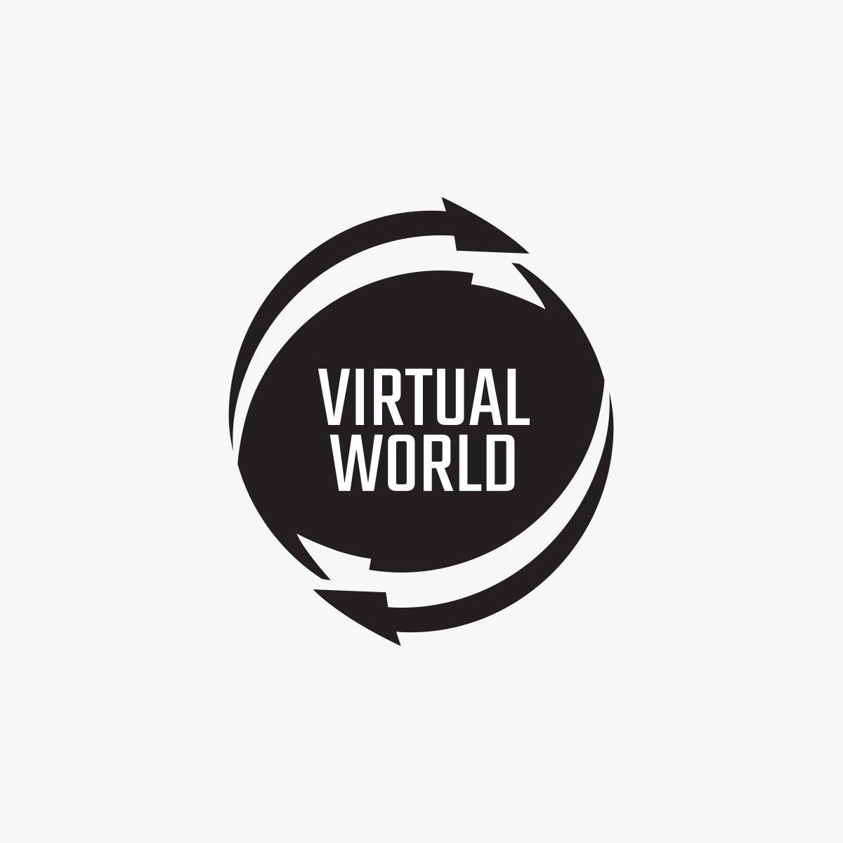 Virtual The World Logo