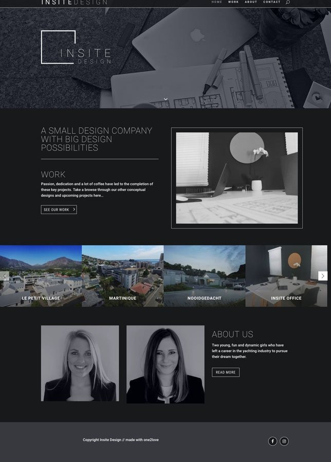 Insite Design Home Page