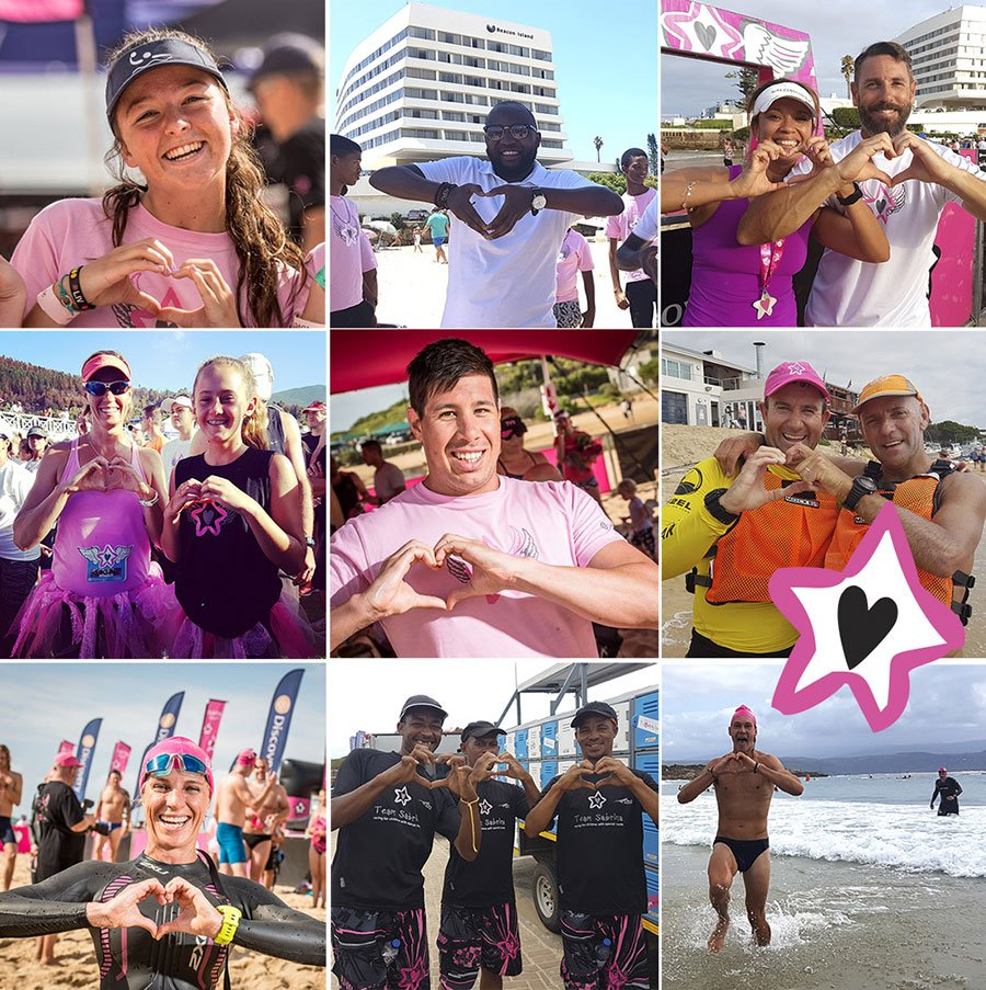 Sabrina Love Ocean Challenge Image Grid of Contestants