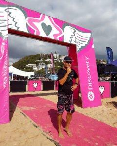 Sabrina Love Ocean Challenge Pink Race Start Image