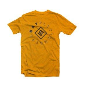 Surfing Life Burnt Orange Plettenberg Bay T-shirt Image
