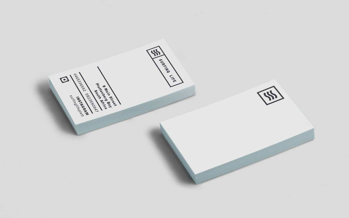 Surfing Life Business Cards Image