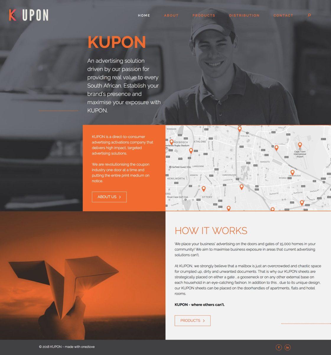 Kupon Home Page