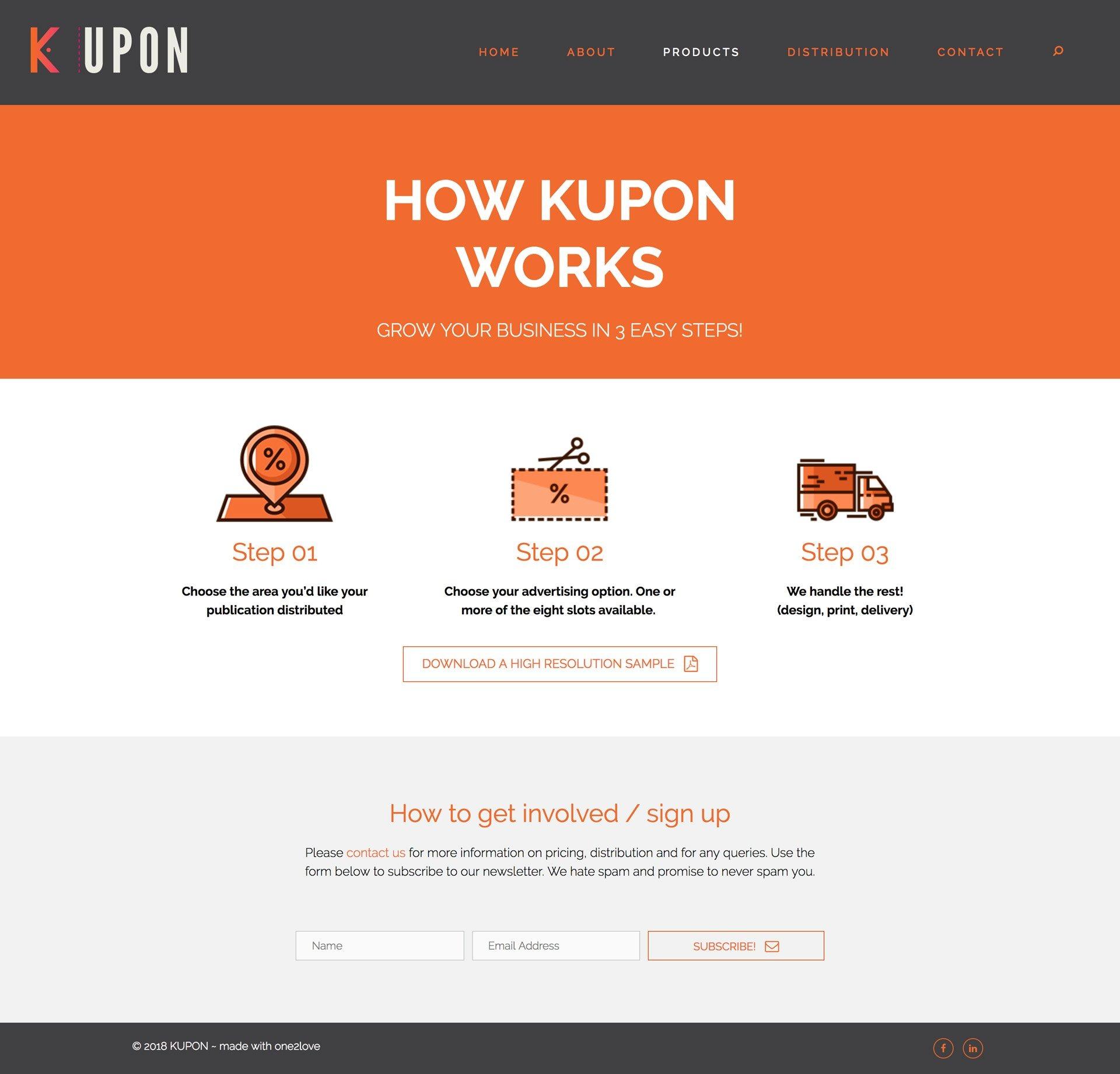How Kupon Works Page
