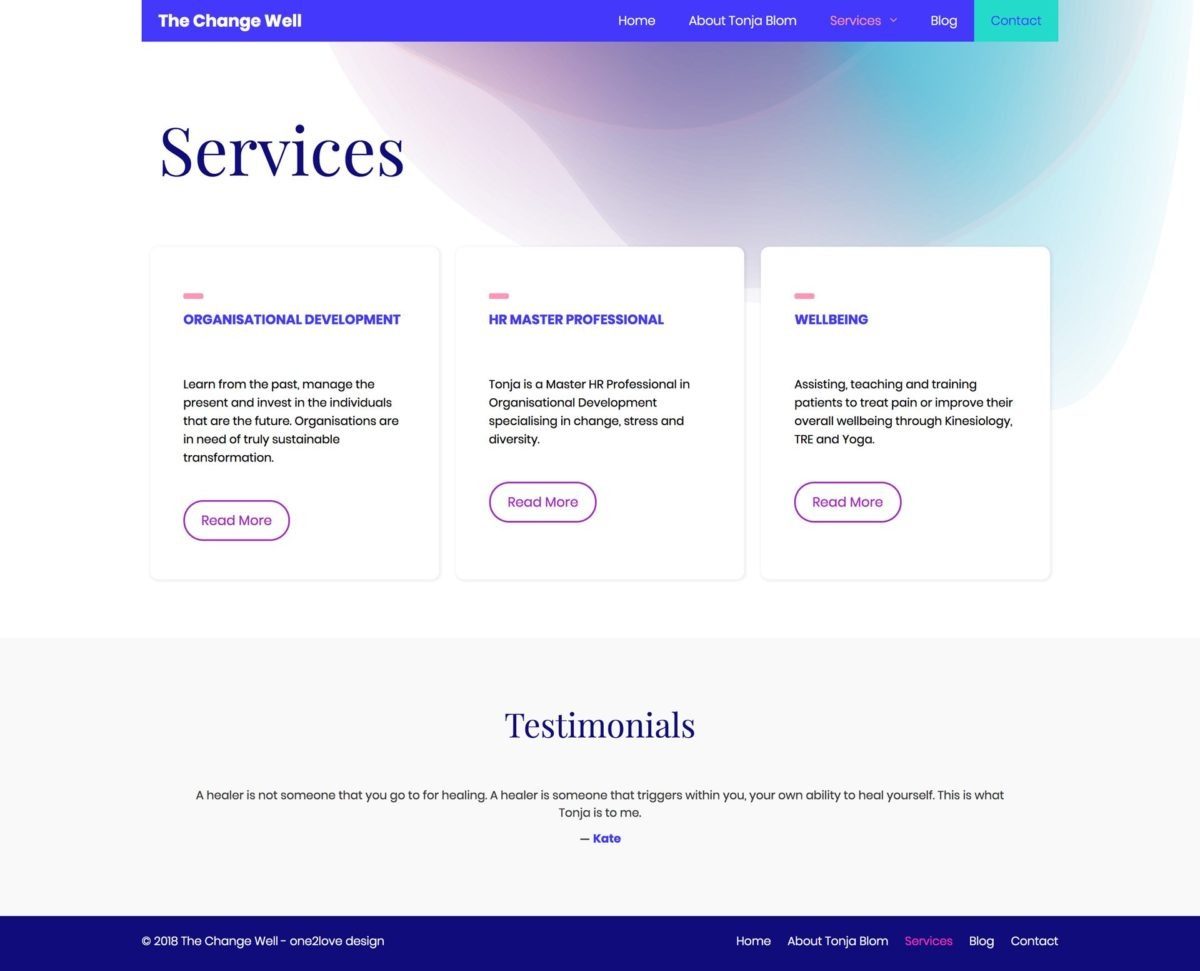 HR Master Professional Services Page