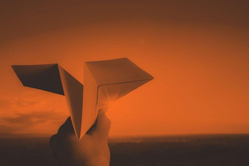 Kupon Paper Plane Image